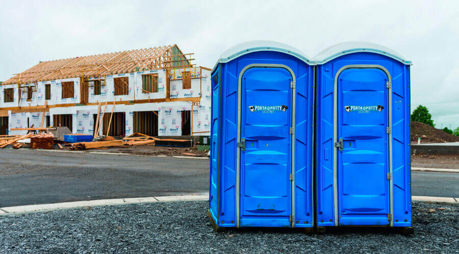 Portable Toilets & Restroom Rentals for Construction