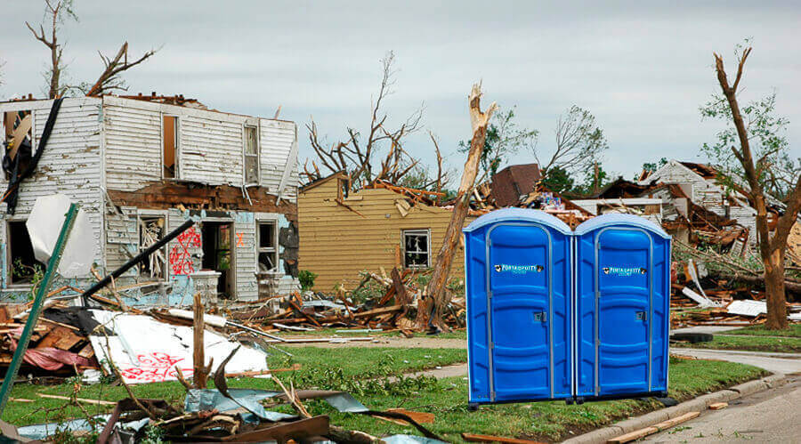 Portable Toilets & Restroom Rentals for Emergency