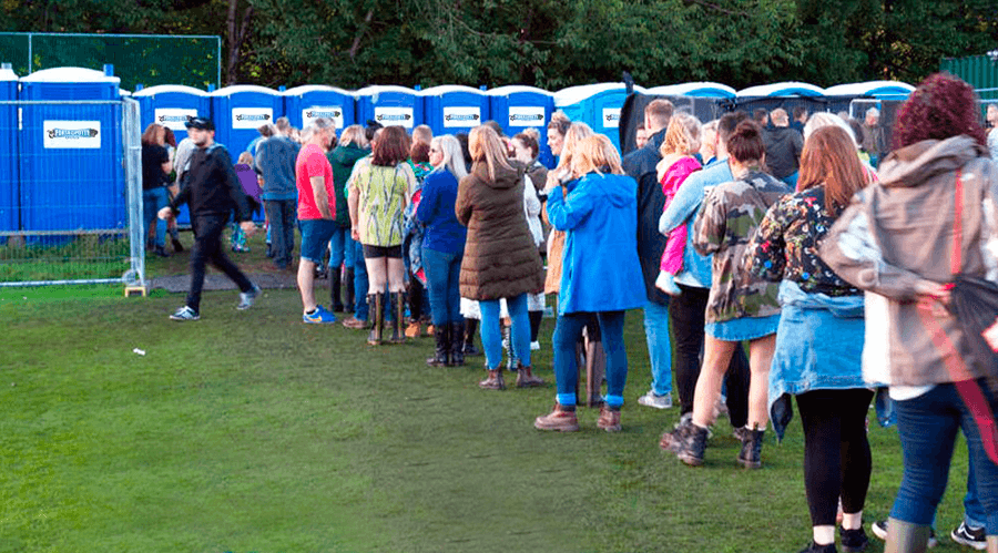 Portable Toilets & Restroom Rentals for events