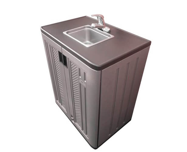 Portable hot water sink