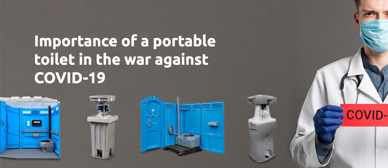 Importance Portable Toilet War Coronavirus - Porta Potty Dogs