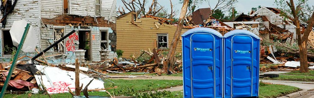 Portable Toilet Rental Service for Disasters