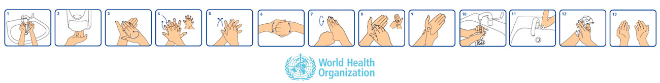 Hands with Soap and Water or Use a Hand Sanitizer