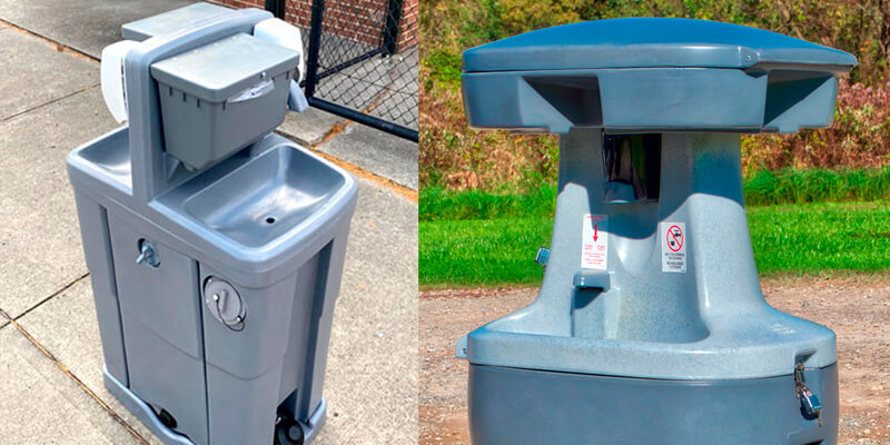 Hand Wash Stations Rentals in New Orleans, LA