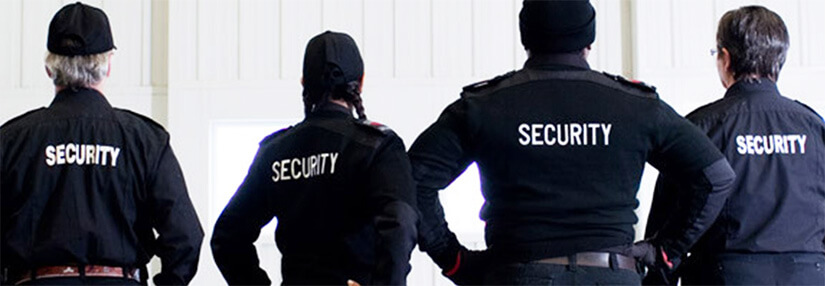 Ask for the Support of the Security Staff of Your Event or Project