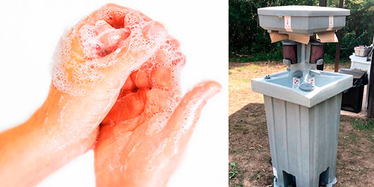 Hand Wash Stations Rentals in Cincinnati OH