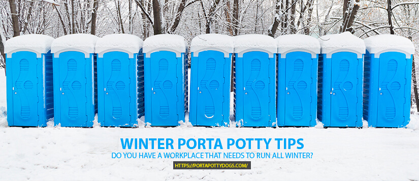 These Are the Top Four Winter Porta Potty Tips