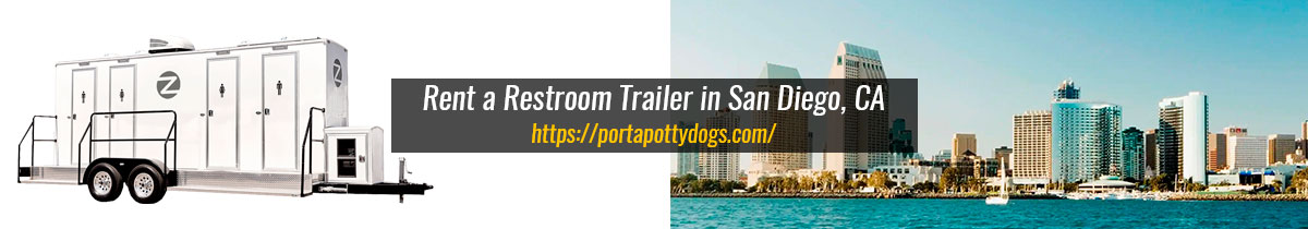 Make a Smart Investment by Renting a VIP Portable Restroom in San Diego, CA