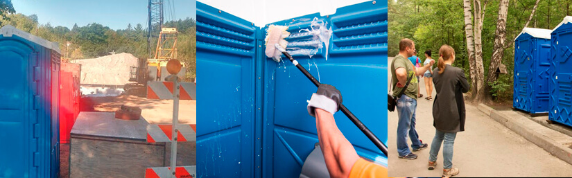 Applications or Uses for Portable Toilets