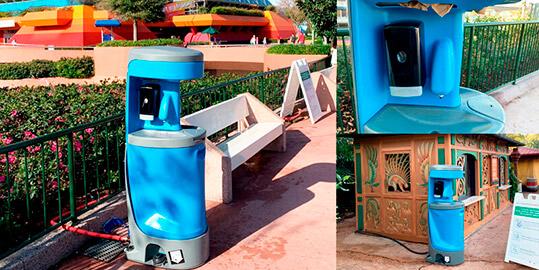 Hand Wash Stations & Sink Rentals in Santa Clarita CA