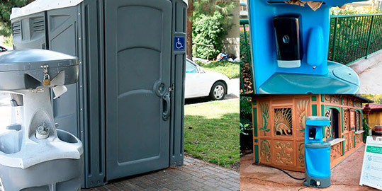 Portable Toilets Rentals in Irving, TX