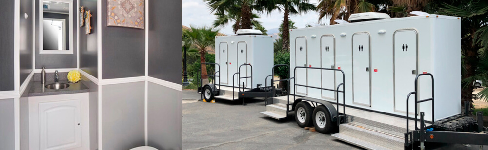 Comfort, Style & Luxury Restroom Trailers for Events