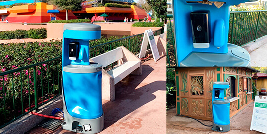 Hand wash Stations Sink Rentals in Rancho Cucamonga CA