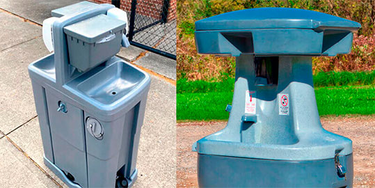Hand wash Stations Sink Rentals in Fort Collins CO