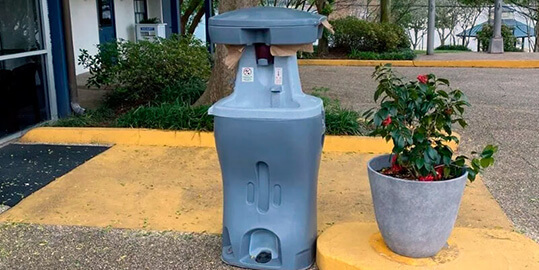 Hand Wash Stationsn Sink Rentals in Akron OH