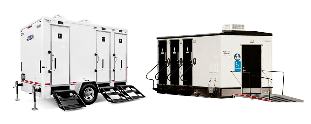 Most Durable Portable Restroom Trailers Rental in New Orleans, LA