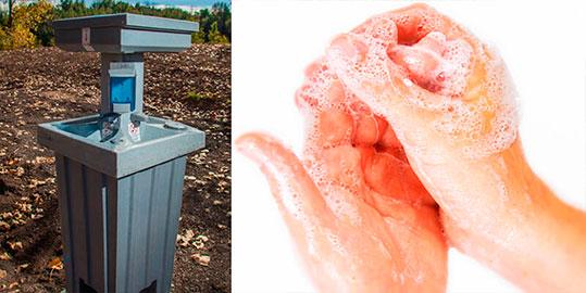Hand Wash Stations Sink Rentals in Santa Clara CA