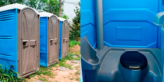 Portable Toilets Rentals in Fullerton, CA