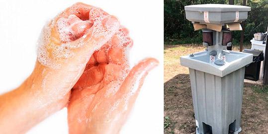 Hand Wash Stations Sink Rentals in Lafayette, LA