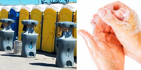 Hand Wash Stations Sink Rentals in Lansing MI