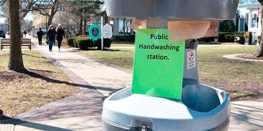 Hand Wash Stations Sink Rentals in College Station TX